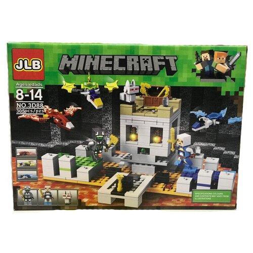 Купить Конструктор JLB Minecraft 3D88 Осада замка, Конструкторы