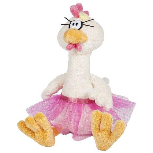 Мягкая игрушка Maxitoys Курочка Балерина 39 см