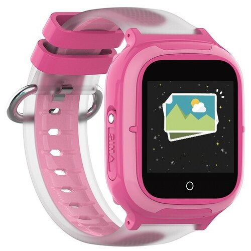 Часы Smart Baby Watch KT08 Wonlex розовые часы smart baby watch q70