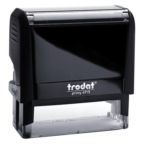 Оснастка для штампа размер оттиска 70х25 мм синий TRODAT 4915 P4 подушка в комплекте 56884
