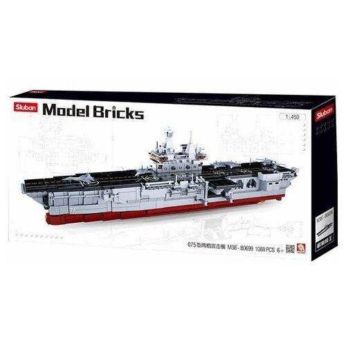 Конструктор SLUBAN Модельки M38-B0699 Десантный корабль