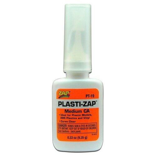 Цианакрилатный клей ZAP для пластика, 9 гр., PACER США, PT-19