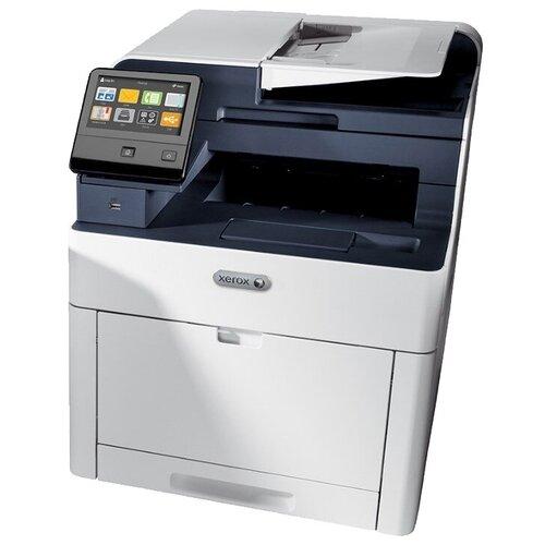 Фото - МФУ Xerox WorkCentre 6515N, белый/синий мфу xerox workcentre 6515n белый синий