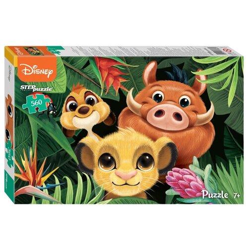 Пазл Step puzzle Disney Король Лев (97085), 560 дет. пазл step puzzle черепашки ниндзя 97070 560 дет