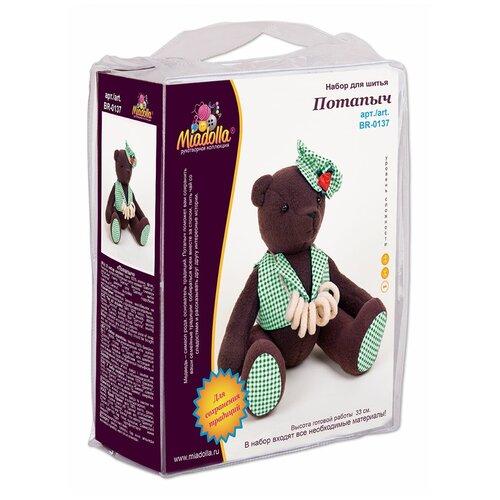 Купить Набор для изготовления игрушки Miadolla BR-0137 Потапыч ., Изготовление кукол и игрушек