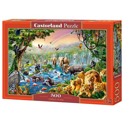 Фото - Пазл Castorland Jungle River (B-52141), 500 дет. пазл castorland лето в альпах b 53360 500 дет
