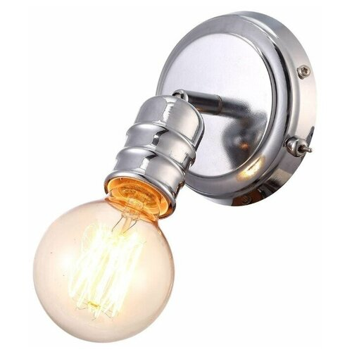 Фото - Бра Arte Lamp Fuoco A9265AP-1CC, с выключателем, 60 Вт бра arte lamp serenata a3479ap 1cc с выключателем 40 вт