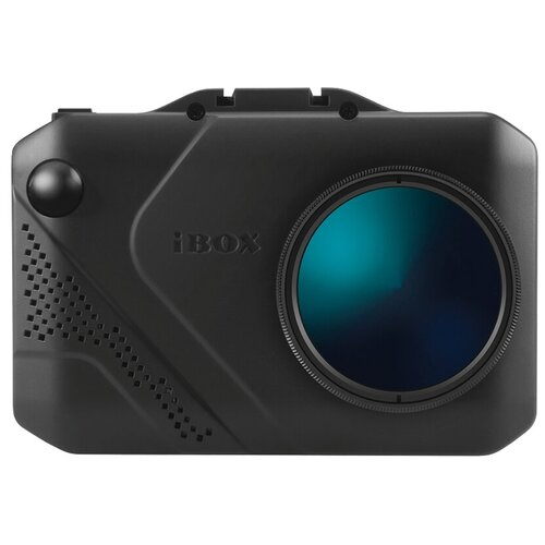 Видеорегистратор с радар-детектором iBOX Nova LaserVision WiFi Signature Dual, GPS, ГЛОНАСС, черный