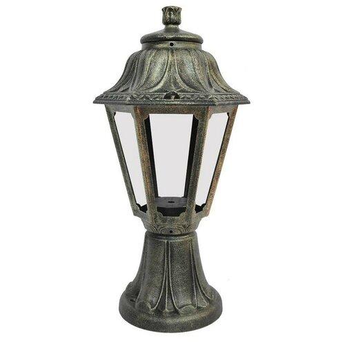 Фото - Fumagalli Светильник уличный наземный Minilot/Anna E22.111.000.BXF1R, E27, цвет арматуры: бронзовый, цвет плафона бесцветный fumagalli наземный светильник rut e26 111 000 bxf1r