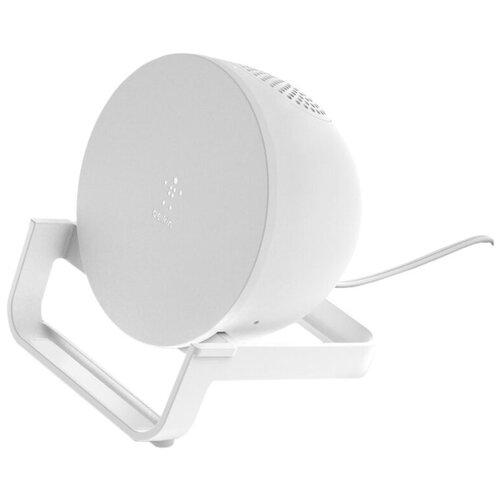Фото - Беспроводное зарядное устройство с динамиком Belkin AUF001vfWH (White) зарядное устройство belkin universal microusb white