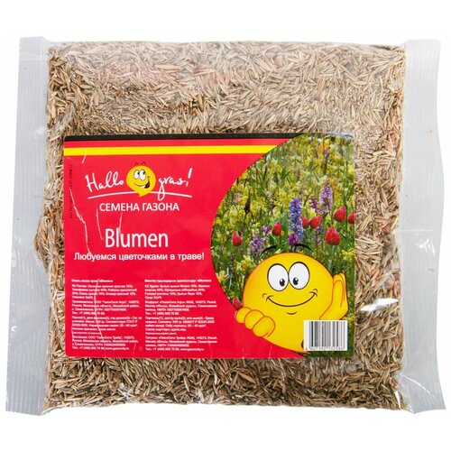 Смесь семян для газона Hallo Gras! Blumen, 0.3 кг недорого