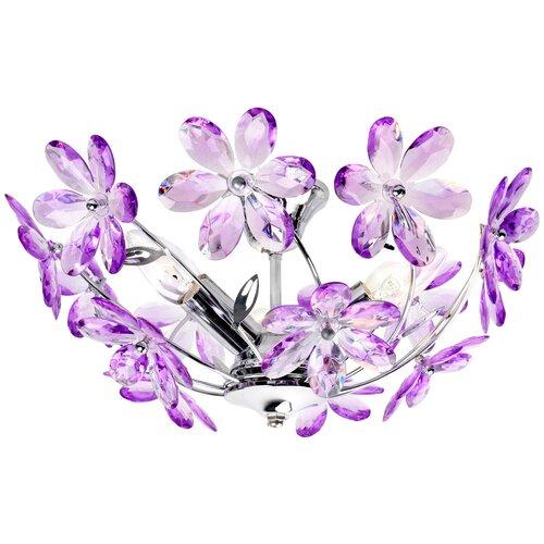 Люстра Globo Lighting Purple 5142, 120 Вт люстра globo lighting vici 54816 3 e14 120 вт