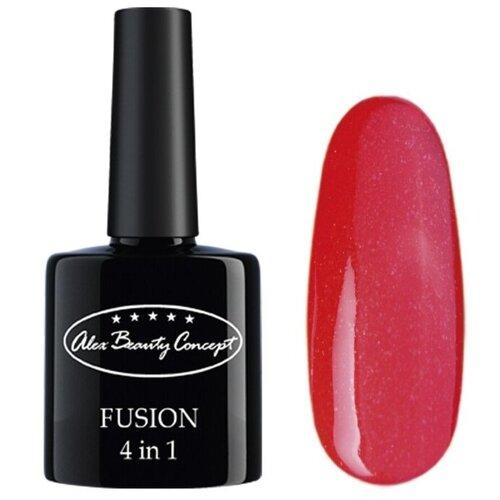 ГЕЛЬ-ЛАК Alex Beauty Concept FUSION 4 IN 1 GEL, цвет красный.