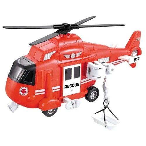 Купить Игрушка Спасательный вертолет City Service 1:16, WenYi, Машинки и техника