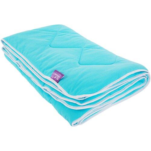 Одеяло Kupu-Kupu Бамбук Classic трикотажное, легкое, 172 х 205 см (бирюза) одеяло kupu kupu бамбук classic трикотажное легкое 172 х 205 см экрю