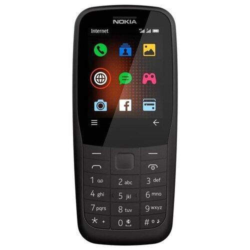 Телефон Nokia 220 4G Dual sim черный