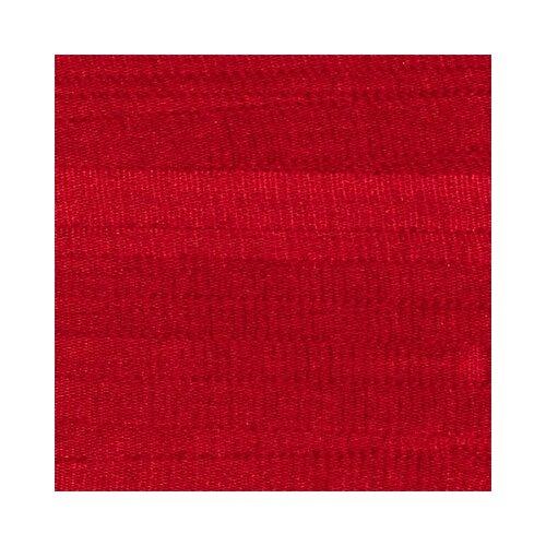 Тесьма декоративная Gamma шелковая, 25 мм, 9,1 +/- 0,5 м, № 101, красный (SR-25)