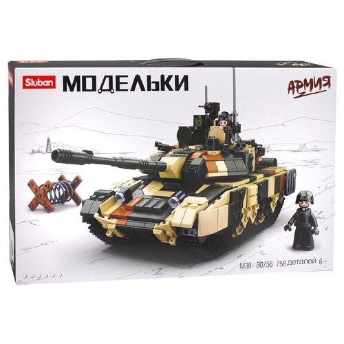 Конструктор SLUBAN Модельки M38-B0756 Армия Танк