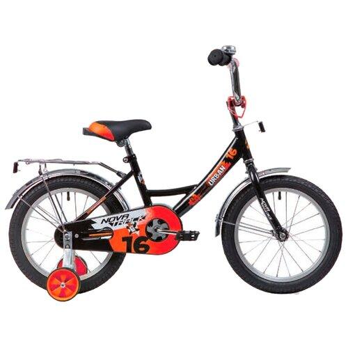 Фото - Детский велосипед Novatrack Urban 16 (2020) черный (требует финальной сборки) детский велосипед novatrack urban 16 2019 синий требует финальной сборки