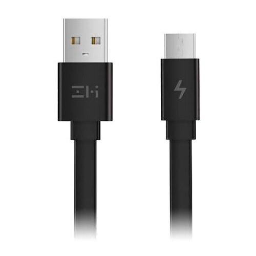Кабель ZMI USB - microUSB (AL610) 0.3 м черный