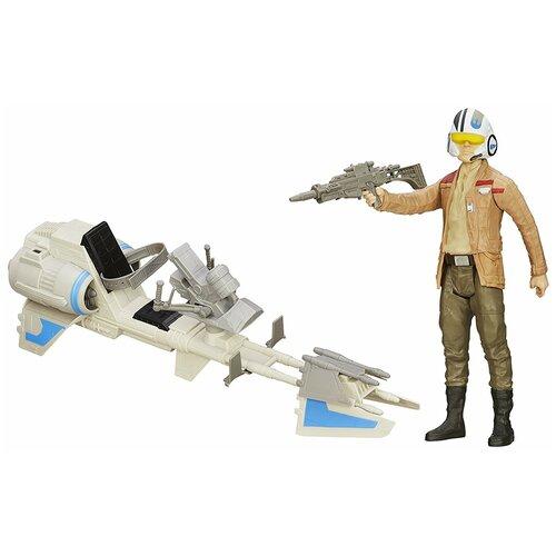 Игровой набор Hasbro Star Wars Герой и транспортное средство B3918