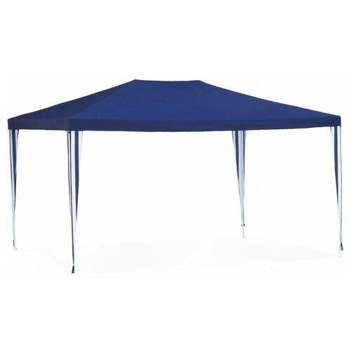 Шатер Green Glade 1030, 4 х 3 х 2.5 м синий / белый шатер green glade 1032 3 х 3 х 2 5 м синий белый