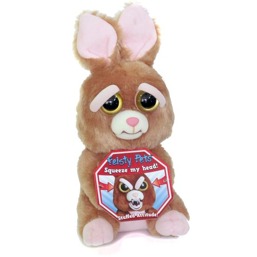 Мягкая игрушка Feisty Pets Кролик 26 см