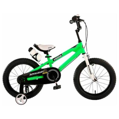 Фото - Детский велосипед Royal Baby RB18B-6 Freestyle 18 Steel зеленый (требует финальной сборки) детский велосипед tong yue 2 3 6 8 12 14 16 18