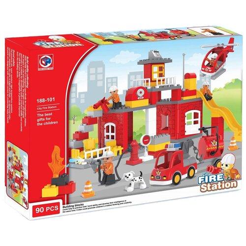 Конструктор Kids home toys 188-101 City Fire Station