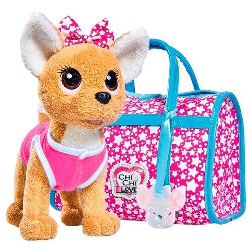 Мягкая игрушка Simba Chi chi love Собачка Звездный стиль 20 см