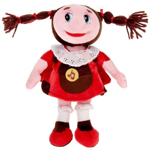 Купить Мягкая игрушка Мульти-Пульти Лунтик и его друзья Божья коровка Мила 23 см, Мягкие игрушки