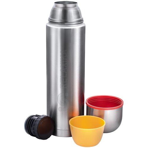 Классический термос Relaxika 102, 1.2 л стальной