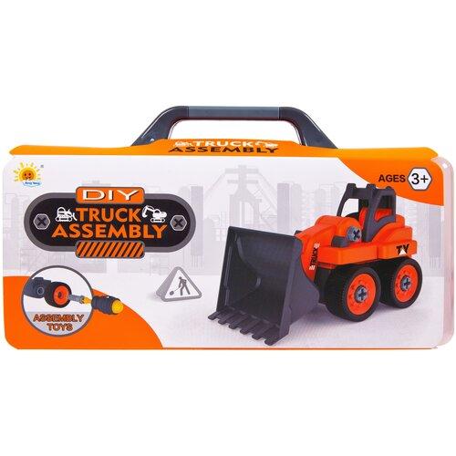 Купить Конструктор Tong Yang DIY Truck Assembly 0590-2 Трактор, Конструкторы