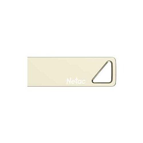 Фото - Флешка Netac U326 16GB, золотистый флешка netac u336 16gb черный
