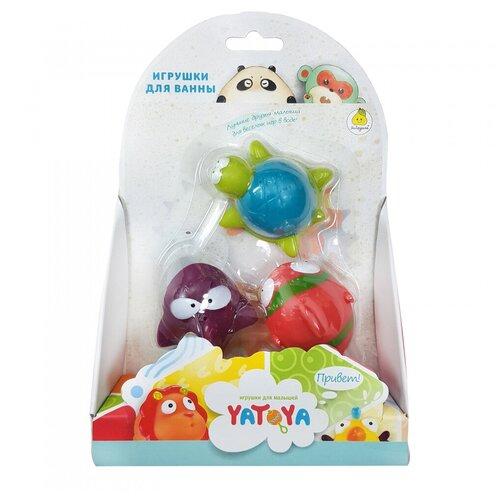Игрушки для ванной ЯиГрушка Акула, рыбка, черепашка