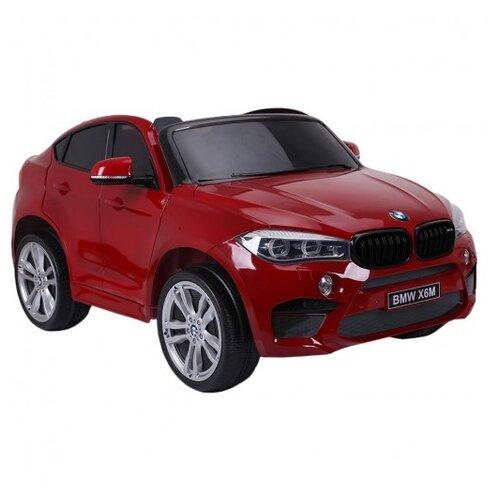 RiverToys Автомобиль BMW X6M, cherry glanec