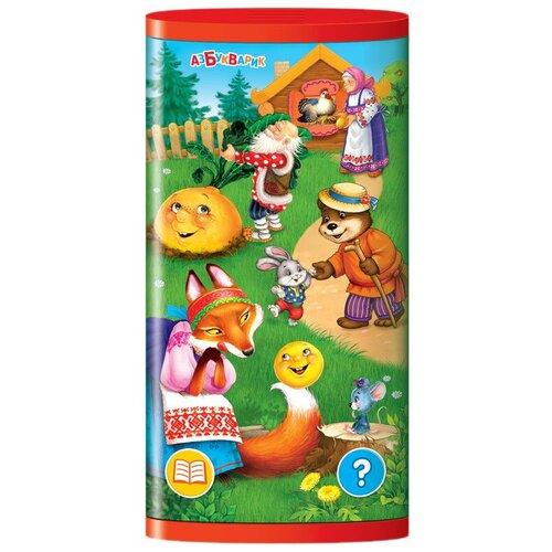 Купить Интерактивная развивающая игрушка Азбукварик Смартфончик двусторонний Сказки для малышей, красный/желтый/зеленый, Развивающие игрушки