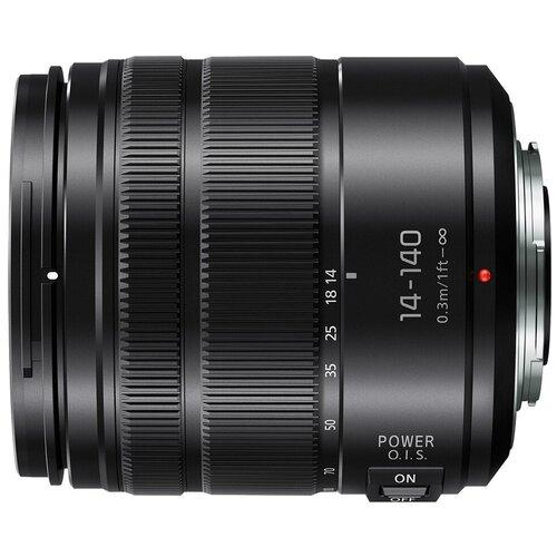 Фото - Объектив Panasonic 14-140mm f/3.5-5.6 II Lumix G Vario Aspherical Power (H-FSA14140) черный объектив panasonic lumix h f008e g fisheye 8mm f3 5