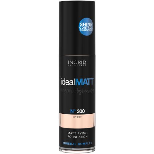 Ingrid Cosmetics Минеральная крем-пудра Ideal Matt 300 недорого