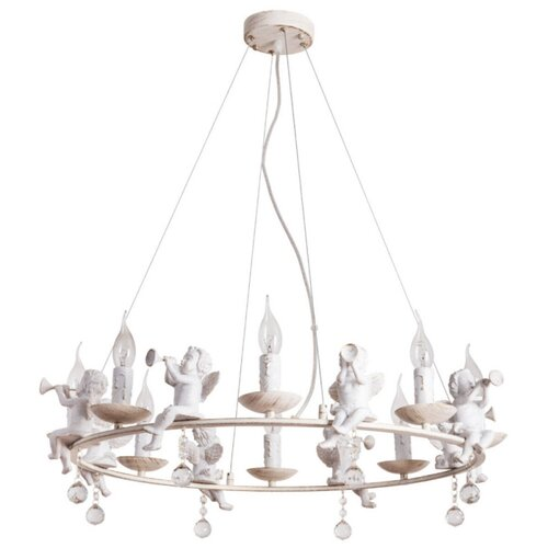 Люстра Arte Lamp Amur A1133SP-8WG, E14, 320 Вт фото