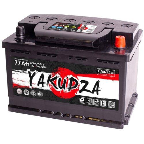 Автомобильный аккумулятор YAKUDZA 6СТ-77.0 VL