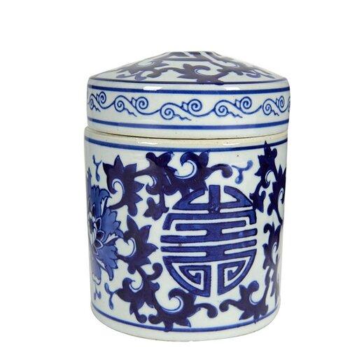 ваза с крышкой d16 х 28 см Ваза с крышкой 13x13x14 см