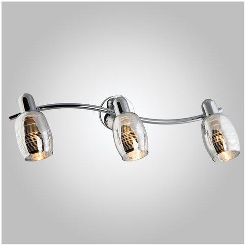 Настенный светильник Eurosvet Polaris 20033/3 хром, 120 Вт бра евросвет 20033 2 хром