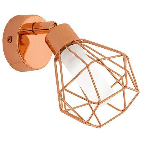 Фото - Настенный светильник Eglo Zapata 95545, G9, 3 Вт, кол-во ламп: 1 шт., цвет арматуры: медный, цвет плафона: белый спот eglo промо zapata 95546