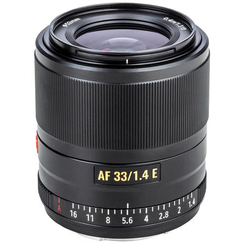 Объектив Viltrox AF 33mm f/1.4 Sony E черный