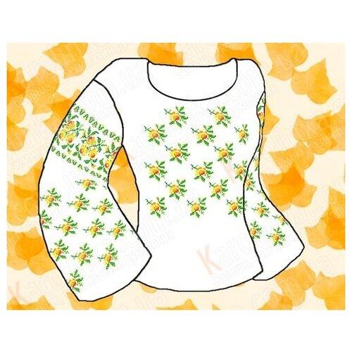 Заготовка для сорочки «Каролинка» КБФ 02 фото