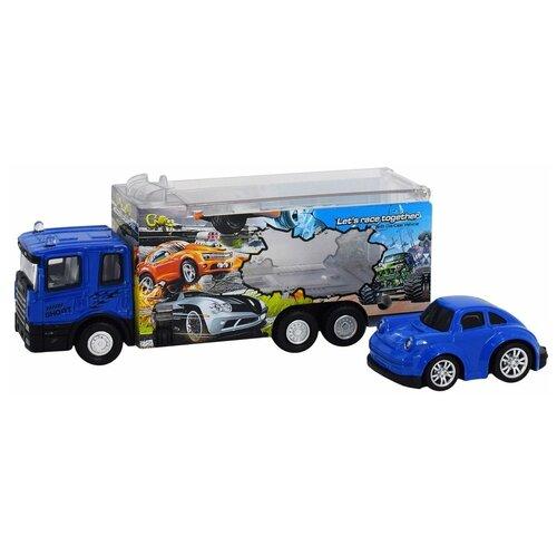 Автовоз Пламенный мотор 870529, синий