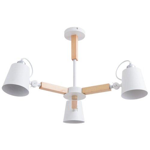 Люстра Arte Lamp Oscar A7141PL-3WH, E27, 120 Вт люстра arte lamp sansa a7585pl 3wh e27 120 вт