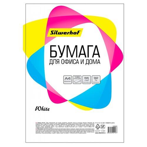 Бумага Silwerhof A4 55г/м2 100л (716001) белый