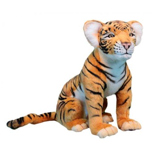Мягкая игрушка Hansa Тигрёнок сидящий 41 см hansa мягкая игрушка hansa экзотические животные коала с детенышем 28 см
